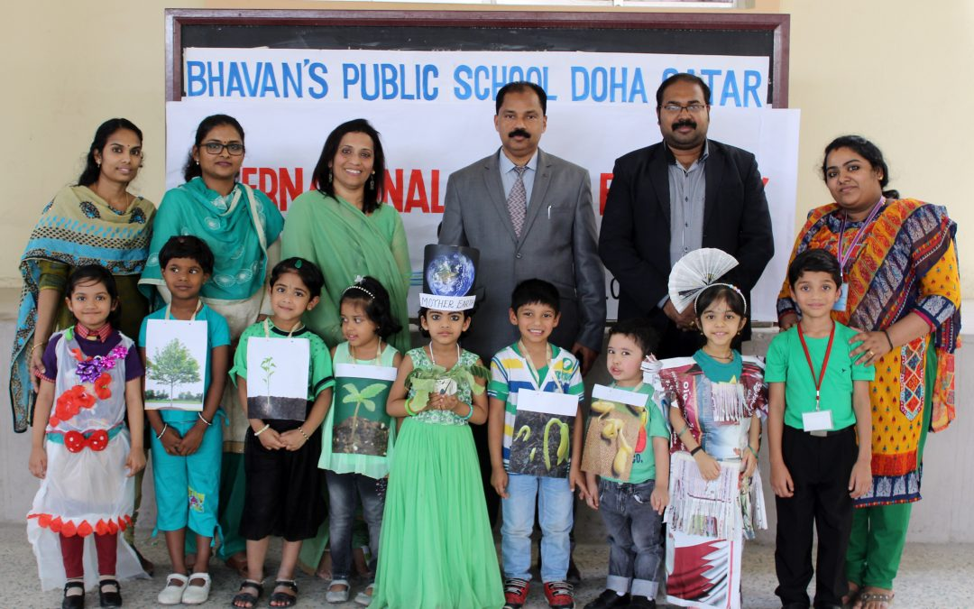 Kindergarten celebrates Earth Day