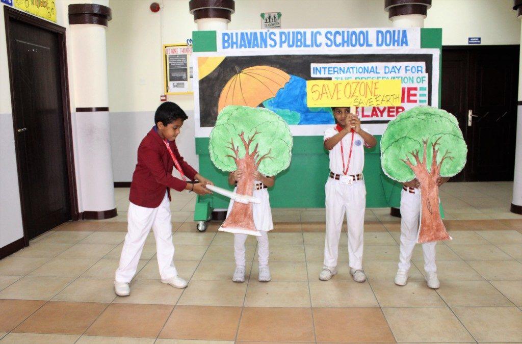 Bhavan's Celebrates Ozone Day
