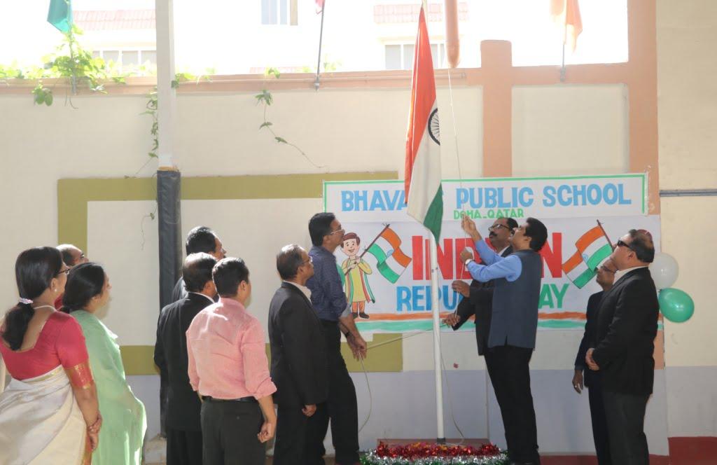 Bhavans Public School Celebrates 70th Republic Day of India
