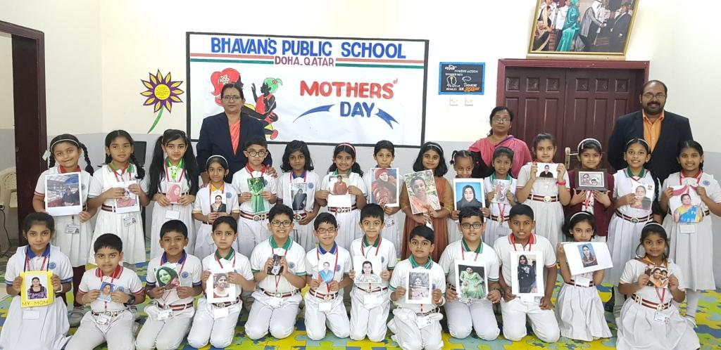 Bhavan's Public School celebrated Happy Mothers' Day