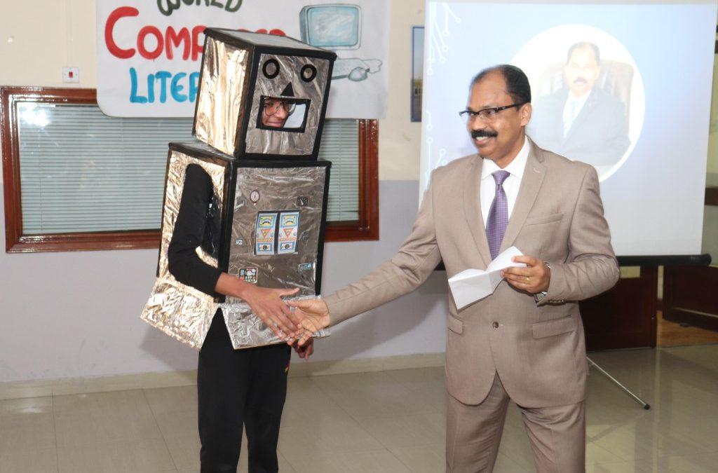 Bhavan's Public School celebrated World Computer Literacy Day