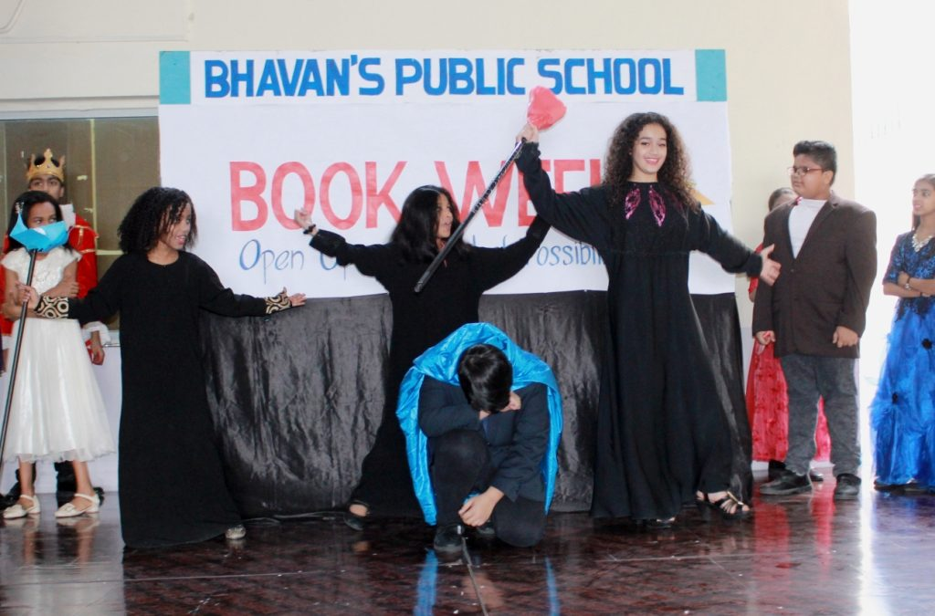 Bhavan's observed the Library Book Week