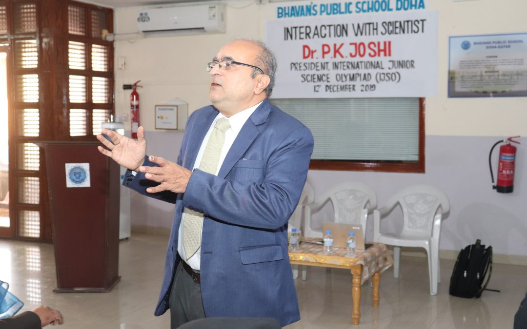 INTERACTION WITH Dr. PARESH K JOSHI