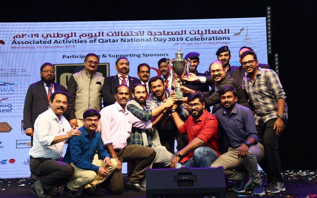 Bhavan's steals the show on Qatar National  Day