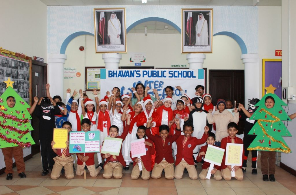 Bhavan's Public School celebrated Winter Season