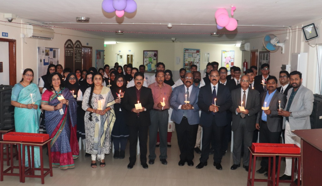 CANDLE LIGHT CEREMONY OF CLASS XII