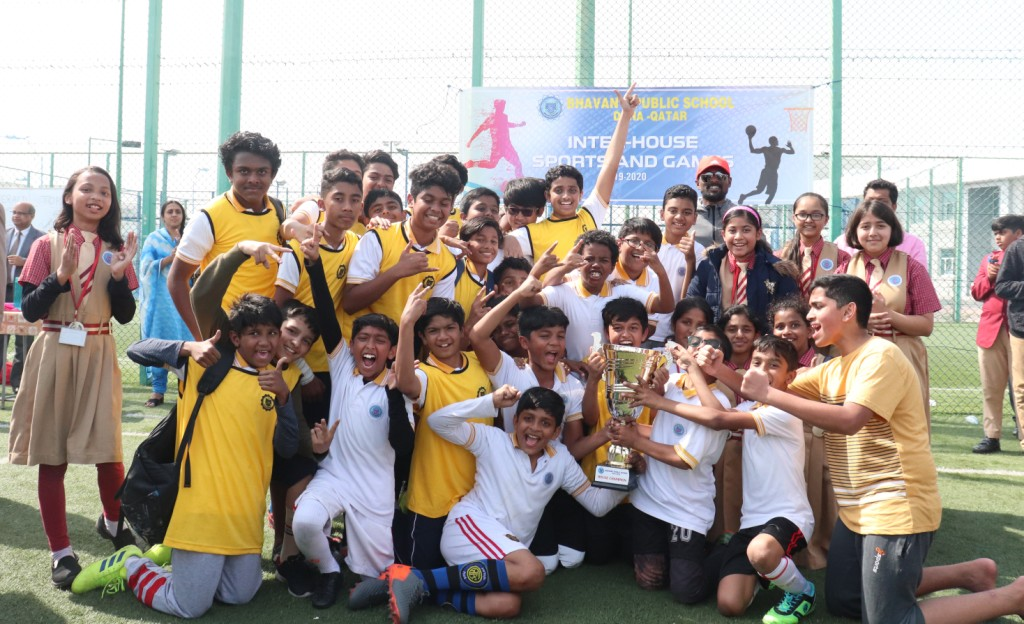 Inter House Sports Events