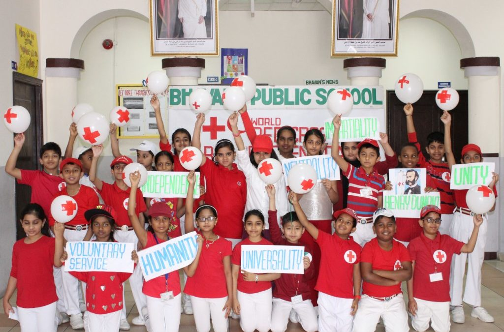 Bhavan's Celebrates World Red Cross And Red Crescent Day