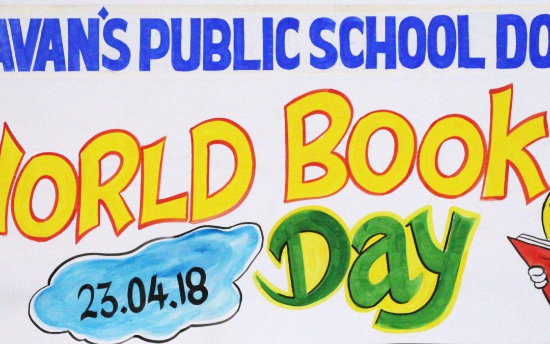 Bhavans Celebrates World Book Day