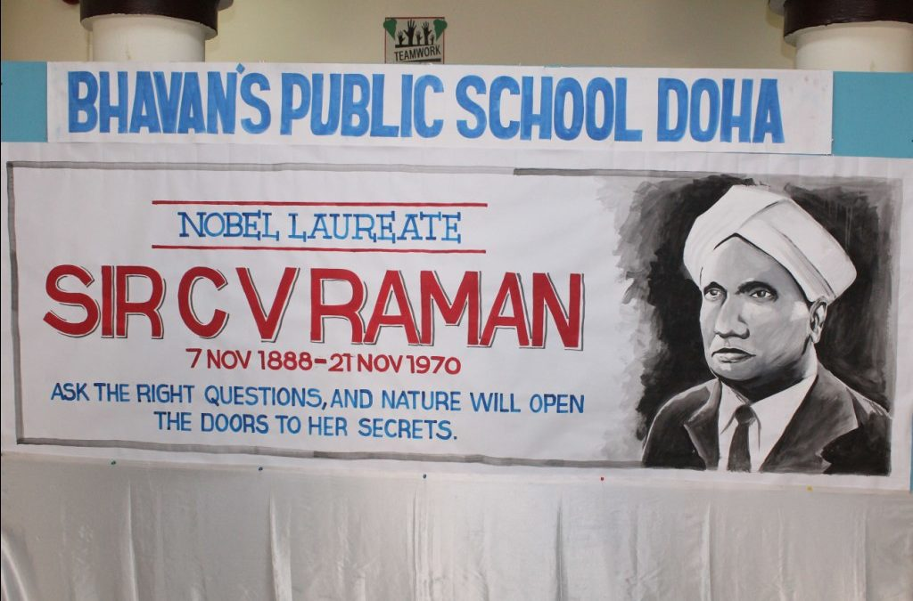Bhavan's Celebrated A Special Day To Honour Sir. C.V. Raman