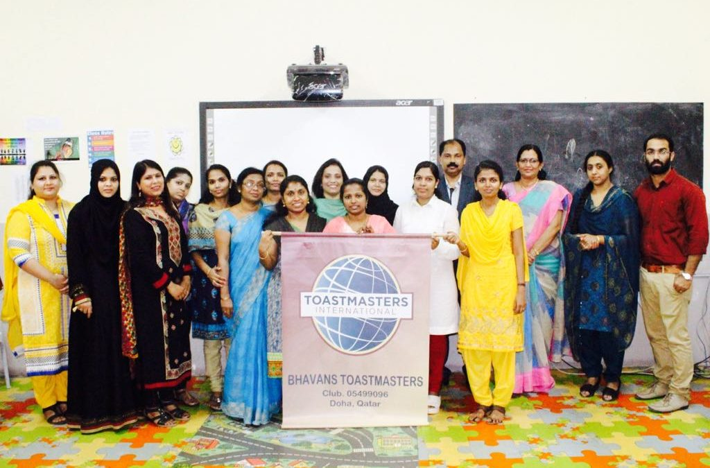 Installation Ceremony-Bhavans Toastmasters Club