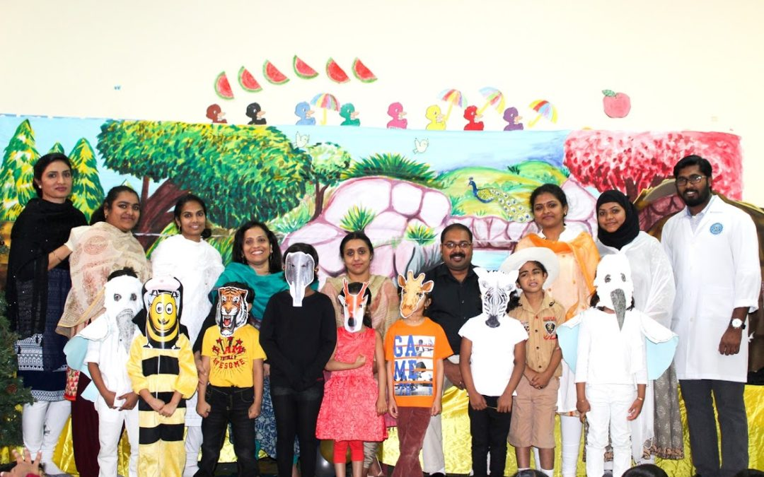 Story Telling Session at Bhavan's Kindergarten