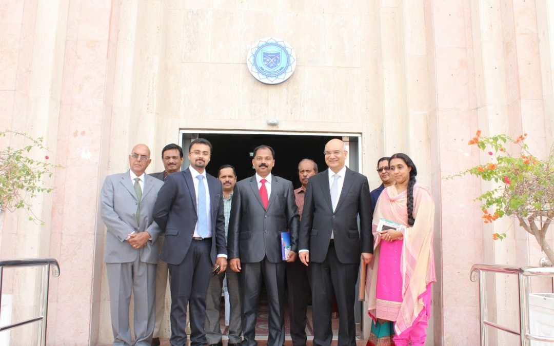 Visit of Keith Vaz (Former Minister and MP of U K)to Bhavans School
