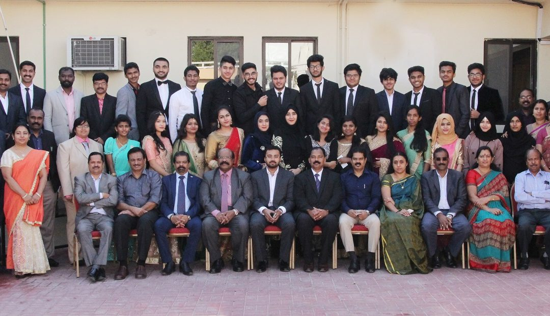 Farewell for class XII students at Bhavan's Public School Doha