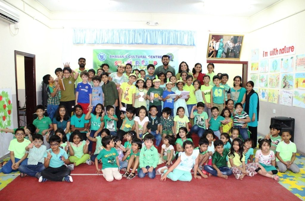 Summer Camp – Eat Green and Stay healthy