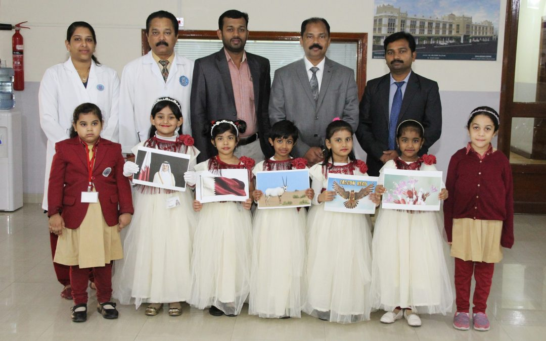 Bhavan's Kindergarten salutes Qatar