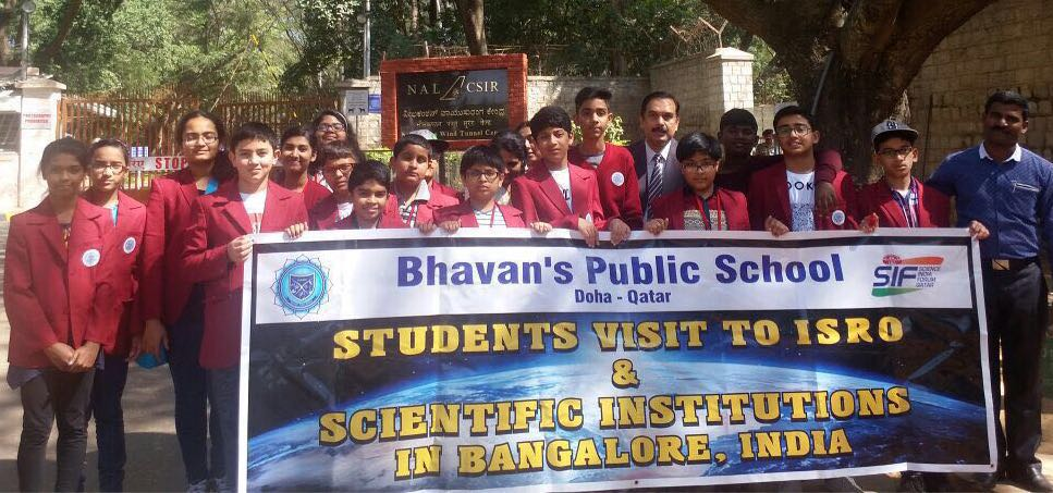 Students Visit to ISRO and NAL and Scientific Institutions Bangalore