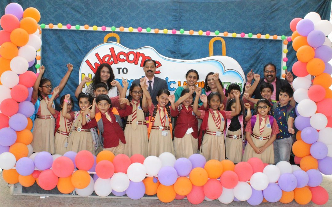 School reopens for Academic Year 2017-18 in joyous mood